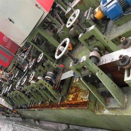 江苏二手不锈钢直缝焊管机设备精密制管机生产线配套模具设备