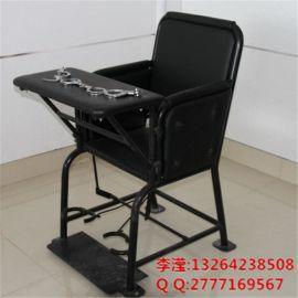 软包铁质审讯椅,检察院铁质审讯椅,方形铁质加固审讯用椅