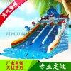 大型水上樂園設備廠家 兒童充氣水池 沙池摸魚池大型水滑梯支架水池