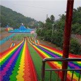 游乐场七彩滑道网红四季旱雪滑道特点