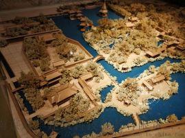 木质古典园林沙盘模型设计制作
