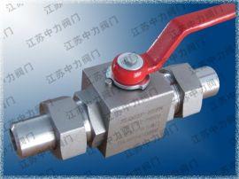 316SS高压焊接不锈钢燃气球阀