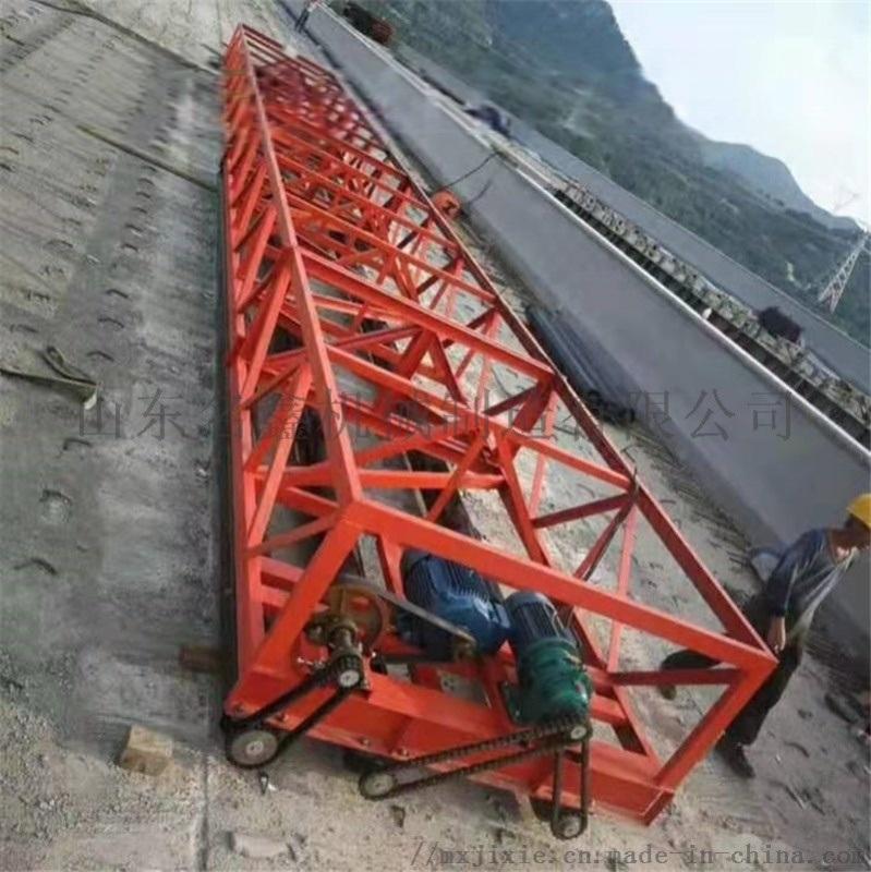 110米混凝土路面摊铺机 整平机 震动梁