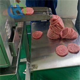 汉堡肉饼成型机厂家 速冻调理品肉饼成型机
