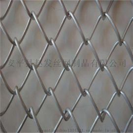 镀锌铁丝网@篮球场镀锌围栏@菱形护坡铁丝网