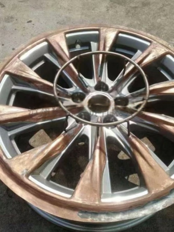 汽车轮毂喷涂遮蔽治具