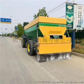 路面撒布车 工程灰料撒布车 牵引式石灰粉撒布车