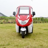 供應銷售恩萊德N100S半封閉電動三輪車老年人休閒代步車 三人座客貨兩用自助旅遊觀光電動三輪車