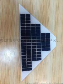 梯形zd5w太阳能电池板,太阳能滴胶板