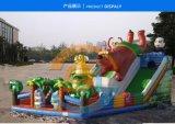 河北保定兒童充氣滑梯遊樂設備視頻