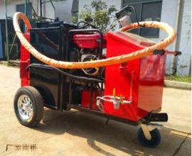 甘南灌缝机本田沥青泵送料 效率高