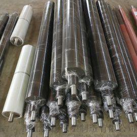 定制 橡胶包胶托辊 橡胶传动胶辊 橡胶胶轴