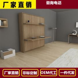 壁床隐形床加衣柜壁床折叠床隐形床