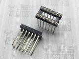 2.54mm IC 圆孔排母连接器 180度