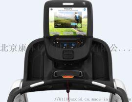 天津必确实体店 TRM885商用跑步机实际使用