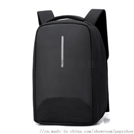 箱包工厂供应定制商务双肩电脑背包双肩包