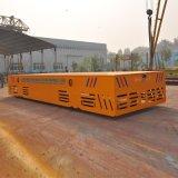 蓄電池360°轉彎平車 搬運壓力容器產品無軌過跨車電動轉運平板車