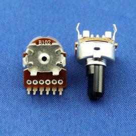 R122GA(立式F轴端子后弯)环保旋转电位器