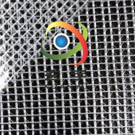 500D2.1米宽度PVC透明夹网布