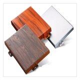 铝单板幕墙厂家  厚热转印木纹铝单板定制