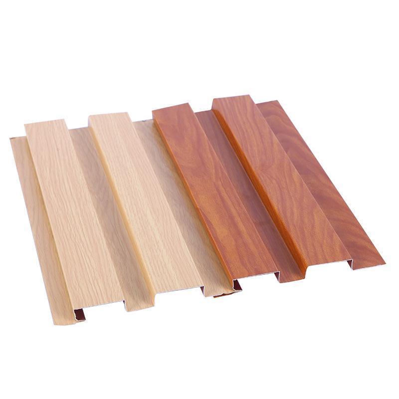 廠家直銷長城板凹凸鋁單板室內外牆面木紋長城板定製