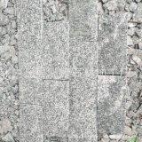 福建花岗岩 蘑菇石 外墙干挂板 G654芝麻黑 深灰色花岗岩