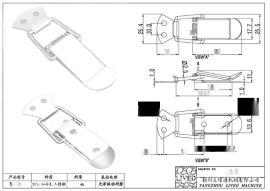 厂家供应不锈钢搭扣、不锈钢箱扣、不锈钢拉扣、锁扣