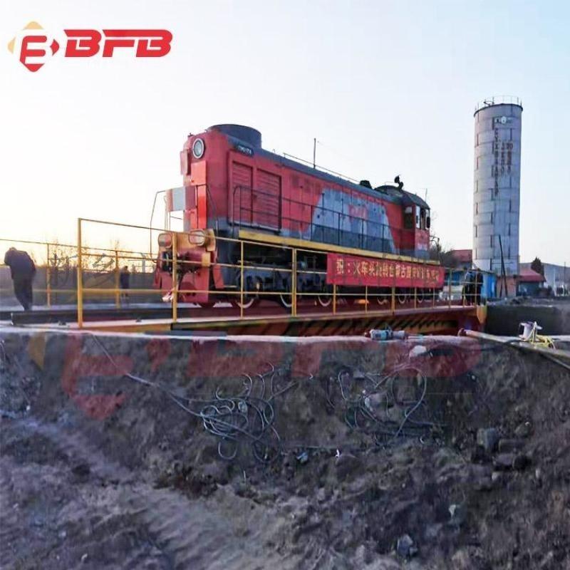 2020性能升级电动翻卷车 钢管运输地轨车