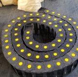 重工机械电缆桥式塑料拖链 自动化生产线电缆拖链