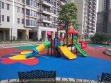 深圳幼儿园EPDM现浇地胶,橡胶地垫生产厂家