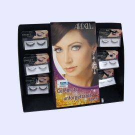假睫毛pdq量身定制纸质款式展示架高度瓦楞纸板