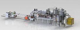苏州金韦尔PET单层包装吸塑片材挤出生产线