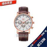 廠家OEM、ODM手錶定製開發,316L高檔全鋼批發男商務士禮品表