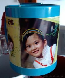 扬州杯子服装水晶上印照片机器个性变色杯设备