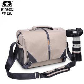 摄影包批发防水面料单反相机包 单肩摄影包 时尚休闲单肩包分销