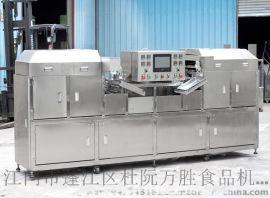自动成型四头蛋卷机在哪里,江门万胜食品机械厂研发了产量**的四头蛋卷机