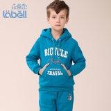 乐背尔2015冬季新款男童套装,中大男童休闲运动卫衣套装