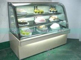 蛋糕保鲜柜 蛋糕展示柜 上海蛋糕柜 圆弧蛋糕柜