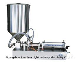 JF-2 半自动灌装机 液体罐装机械 卧式气动灌装机