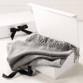 圍巾定製男士女士氣質高端時尚正品羊絨禮品OEM工廠