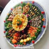景德鎮特色海鮮魚盤,陶瓷裝飾大瓷盤廠家定製