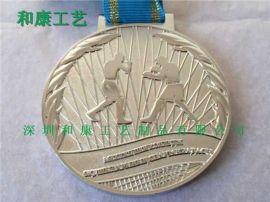 广东马拉松奖牌制作,广东订做金属马拉松奖牌厂
