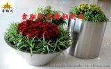 商场不锈钢组合式花盆 不锈钢花插  厂家直供花盆