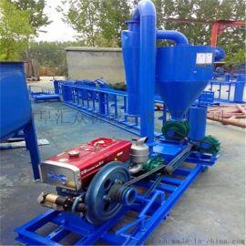 农场  真空气力吸粮机,大吨位粉料气力除尘吸料机-三相电风力输送机