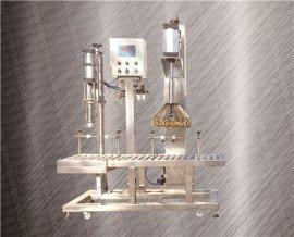 三合一灌装机 称重灌装压盖一体机 液体灌装机 半自动灌装机 灌装机生产厂家