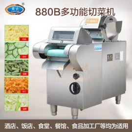 赣云880型**多功能商用切菜机电动果蔬切片机切丝机切丁机加厚