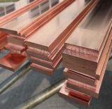 T2紫铜排厚度3MM宽度25MM镀锡紫铜排加工现货即发