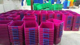 整理箱式消毒餐具箱,塑料洁具箱