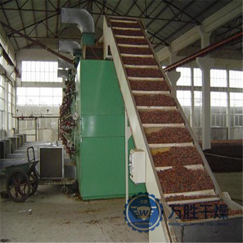 休闲鱼专用干燥机 带式干燥机 供应干燥设备--DW1.2-8带式干燥机