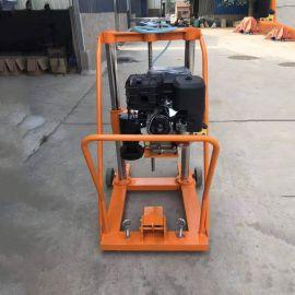 便携式混凝土钻孔取芯机 柴油 **水钻机 公路混凝土取芯钻机
